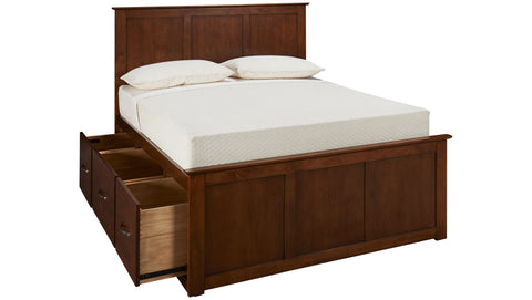 Mastercraft Palisades Eastern King Storage Bed  MC4301-EKPB