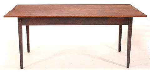 Lawrence Crouse Farm Table With Turned or Tapered Legs