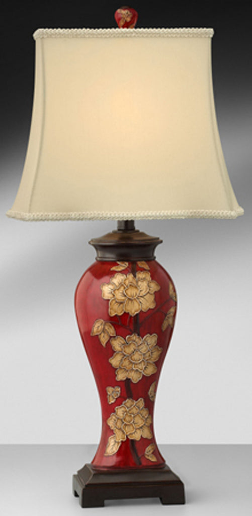 Scarlett Chinoiserie Resin Table Lamp F440RICB