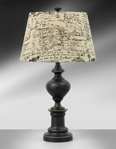 Madison Bronze Steel Table Lamp MB985KHFS