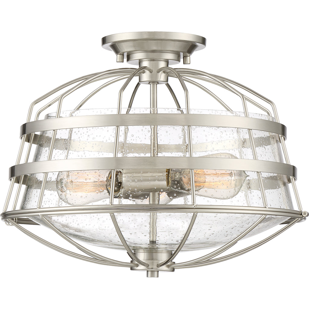 Maritime Semi-Flush Mount
