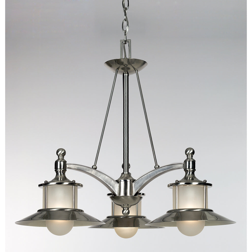 New England Dinette Chandelier