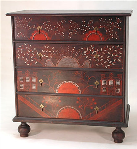 Lawrence Crouse William and Mary Chest of Drawers