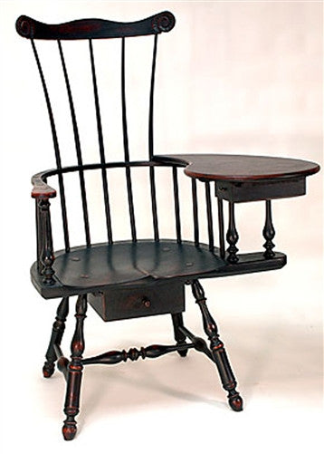 Lawrence Crouse Philadelphia Writing Arm Chair