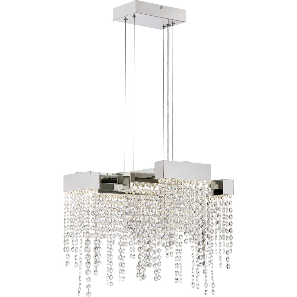 Crystal Falls Semi-Flush Mount