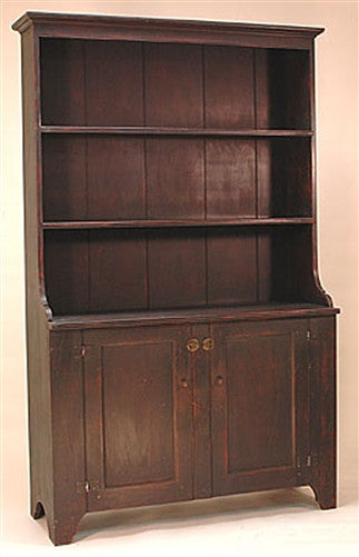 Lawrence Crouse Pewter Cupboard With Doors