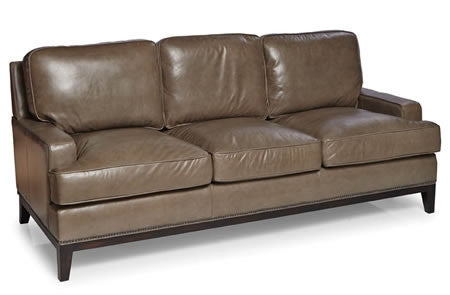 Palatial Leather Metro Sofa