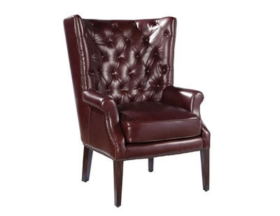 Palatial Leather Harrison Chair