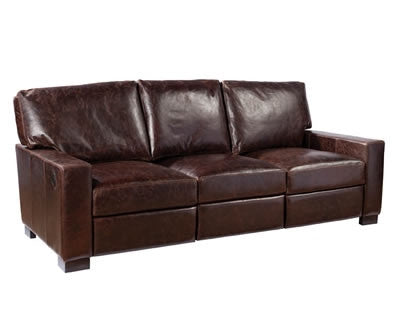 Palatial Leather Morgan Sofa