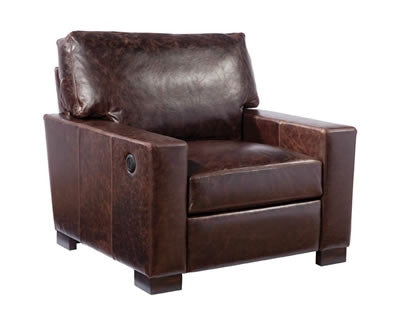Palatial Leather Morgan Chair