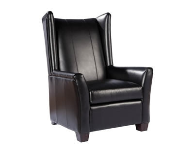 Palatial Leather Kelsey Chair