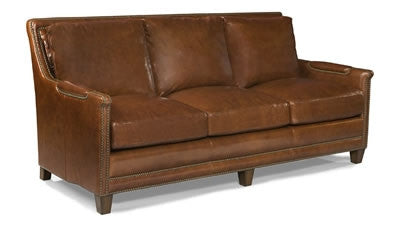 Palatial Leather Prescott Sofa