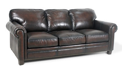 Palatial Leather Hillsboro Sofa