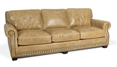 Palatial Leather Canyon Sofa