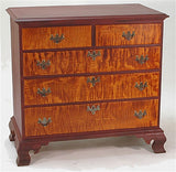 Lawrence Crouse Queen Anne Chest of Drawers