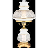 Satin Lace Table Lamp