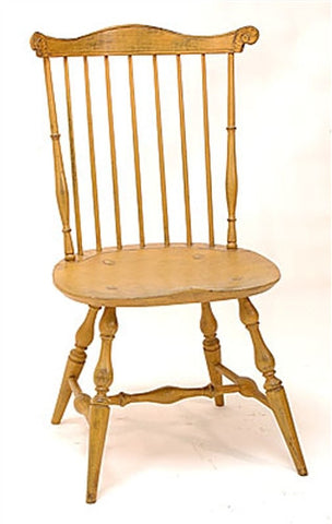 Lawrence Crouse New England or Pennsylvania Fan Back Windsor Side Chair