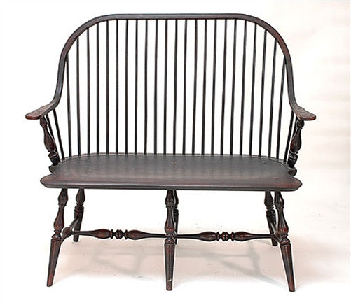 Lawrence Crouse Continuous Arm Settee