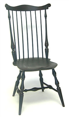 Lawrence Crouse New England Or Pennsylvania Tall Fan Back Windsor Arm Chair  ...