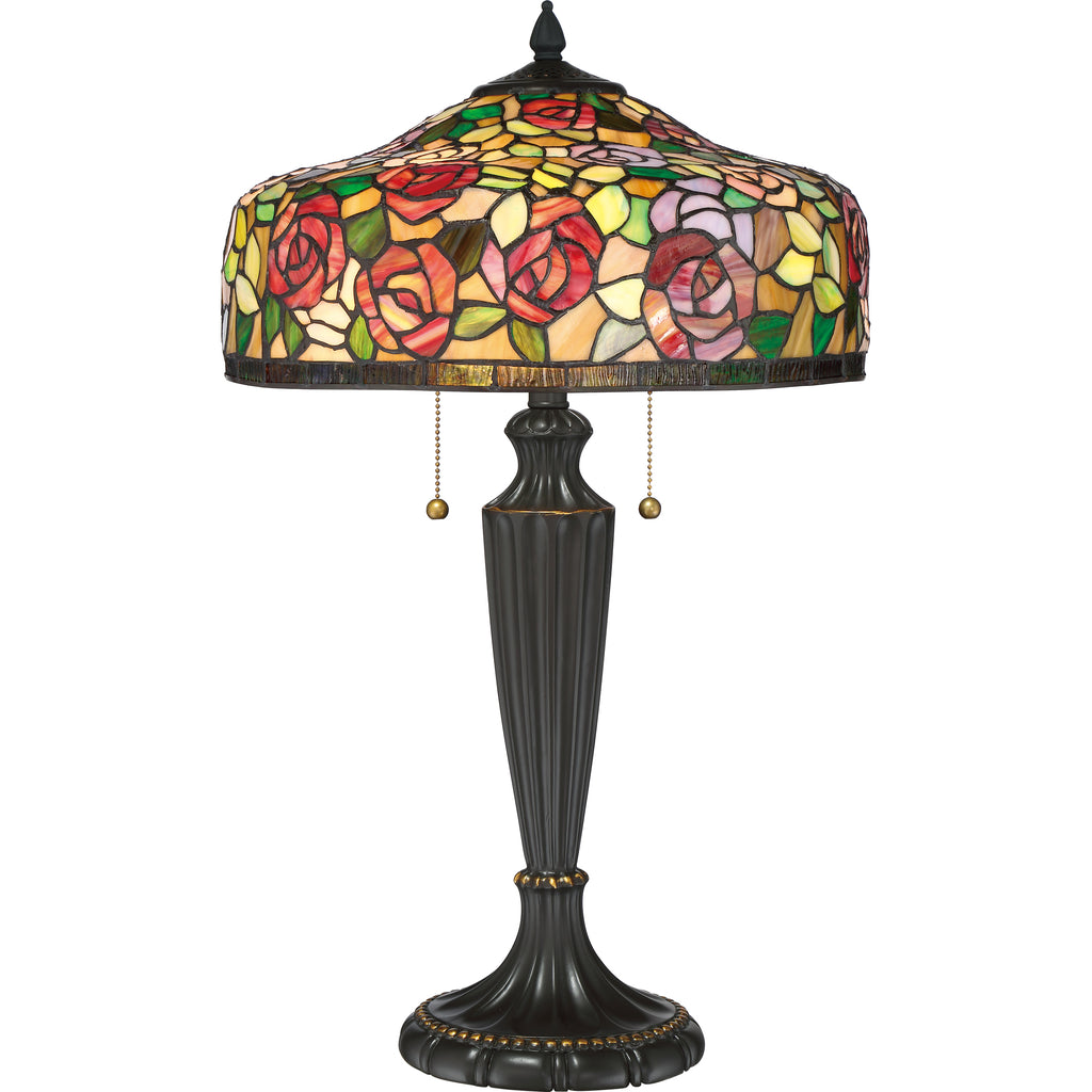 Wild Rose Table Lamp
