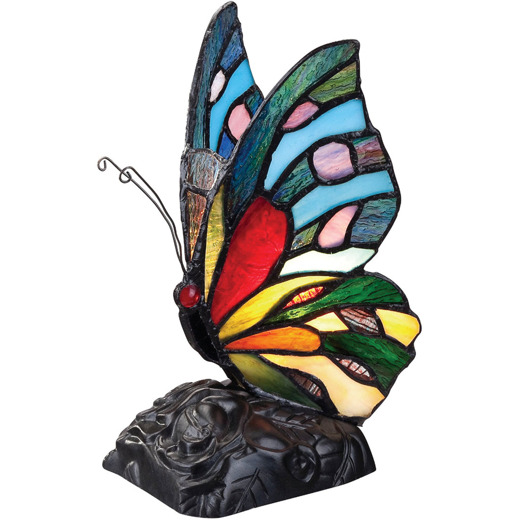 Rainbow Butterfly Table Lamp