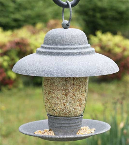 Quart Mason Jar Bird Feeder  Barn Roof TN811273T