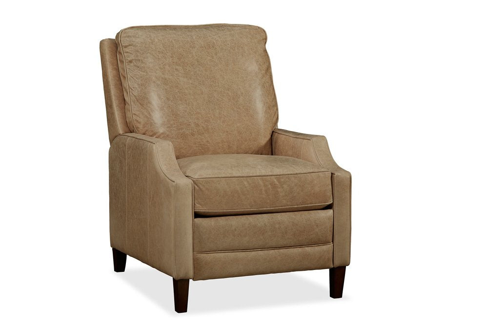 Bronya Recliner – Desert Sand Our three-way pushback recliner