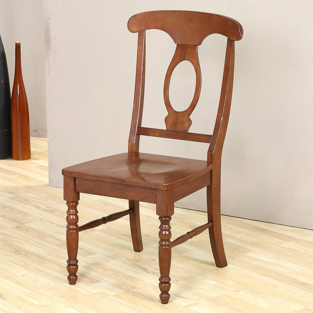 Mastercraft GS Casual Home Napoleon Side Chair Wood Seat CH104W01E2