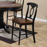 Mastercraft GS Casual Home Napoleon Gathering Stool Wood Seat CH104W24F2