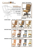 Mastercraft GS Casual Home Arrowback Side Chair CH101W01E2