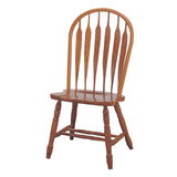 Mastercraft GS Furniture CL102W01E5 Classic Monarch Bow Arrow Side Chair