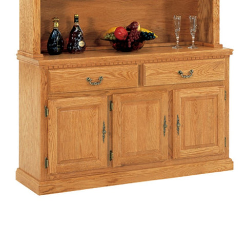 Mastercraft GS Furniture CL35436B1 Classic 56-in Buffet Sideboard