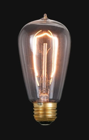Vintage Style NEW Edison Base Hair Pin Filament Light Bulb 60 Watts