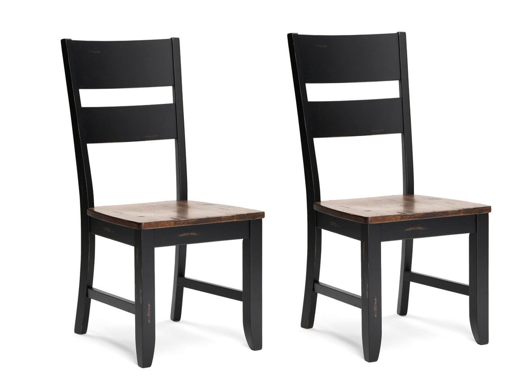 Mastercraft GS Furniture TWO (2) Beaver Creek Side Chairs BC 110W