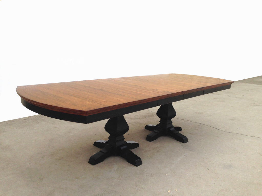 Mastercraft GS Furniture Riverside Double Pedestal Dining Table RV 2T441421