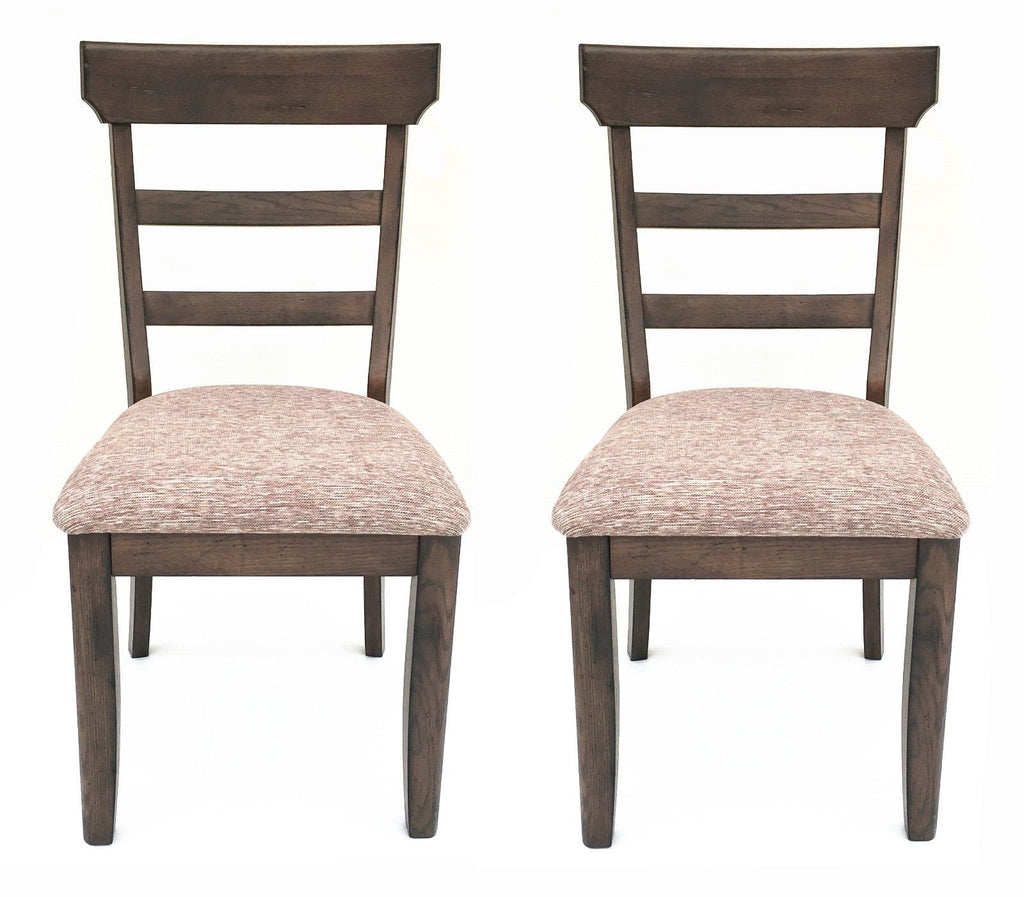 Mastercraft GS TWO (2) Cimarron Canyon Ladder Back Side Chairs CC108F