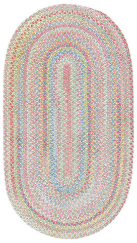 Capel Baby's Breath Rugs Light Grean Oval 5'x8' - ON SALE!!!