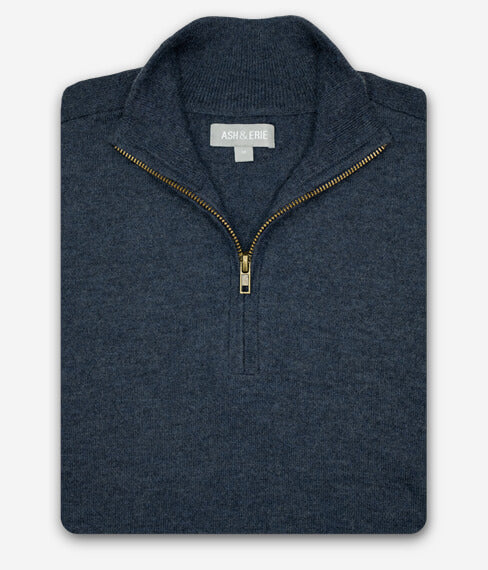 The Merino Wool Sweaters - Blue Ink