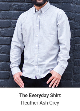Everyday Shirt - Heather Ash Grey