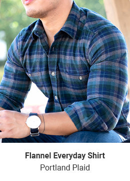 Flannel Everyday Shirt - Portland Plaid