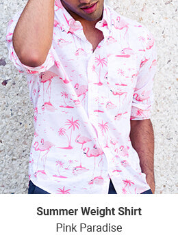 Summer Weight Shirts - Pink Paradise