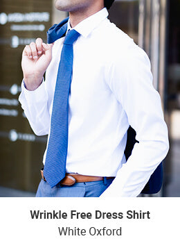Dress Shirt - White Oxford
