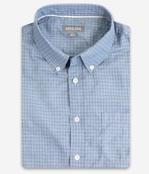 Faded Sky Gingham Shirt
