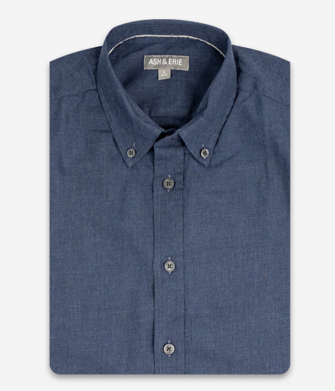 Heather Blue Ink Everyday Shirt