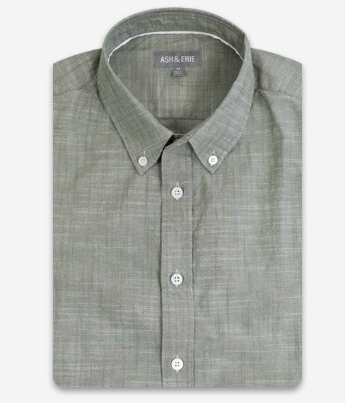 Muted Green Everyday Shirt