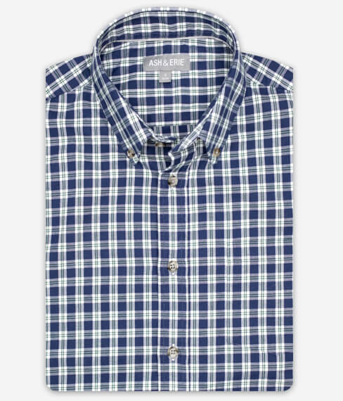 Nantucket Plaid Fall Shirt