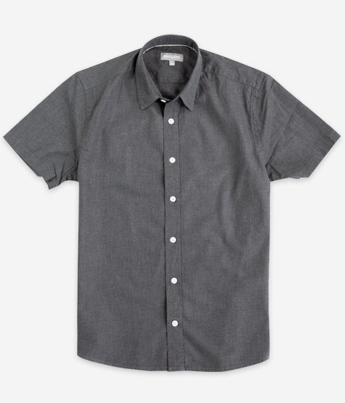 Charcoal Short Sleeve Everyday Shirt