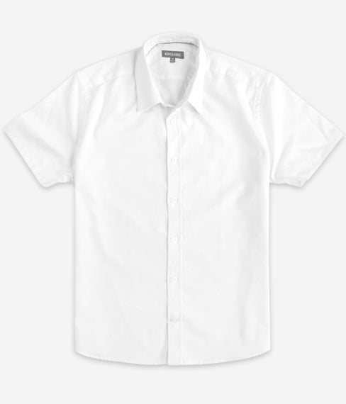 White Oxford Short Sleeve Everyday Shirt