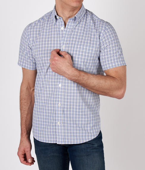 Park Plaid Short Sleeve Shirt