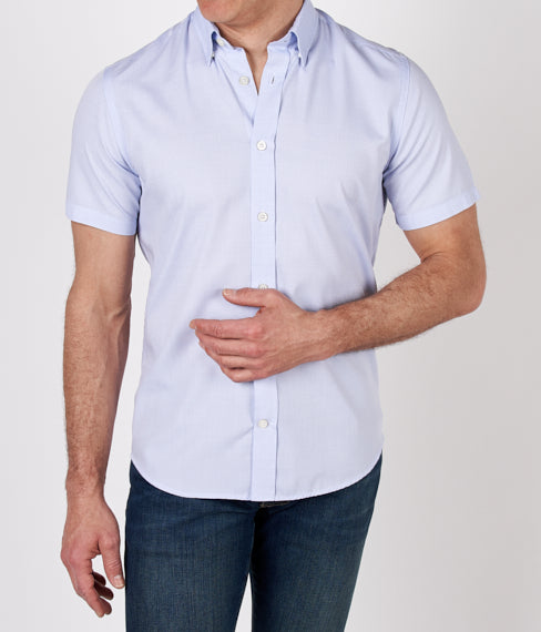 Sky Grain Short Sleeve Shirt